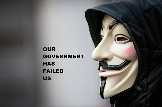 our-government-has-failed-us